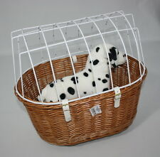 Aumüller Hundefahrradkorb / Tierfahrradkorb Hund für den Gepäckträger bis 10 kg