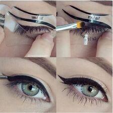 Stencil eyeliner-ombretto GUIDE-Smokey Occhio Di Gatto-Rapido Strumento Trucco Set