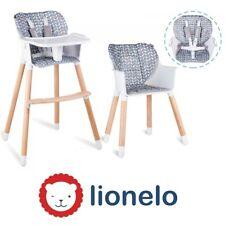 Lionelo Koen 2in1 Kinderhochstuhl Baby Hochstuhl Kinder Stuhl Kinderstuhl Bunt