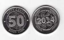 ZIMBABWE – NEW ISSUE 50 BOND UNC COIN 2014 YEAR