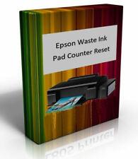 WIC Software Epson Printer WorkForce 520 Waste Ink Pad Counter Reset Error CD