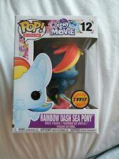 My Little Pony RAINBOW DASH SEA PONY CHASE Funko Pop Vinyl #12