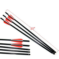 "12 pcs 20"" Crossbow Bolts Aluminum Arrows for Crossbow Hunting Archery Hunter"