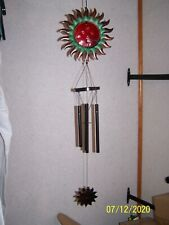 New listing Red Sun Metal Wind Chime (New)