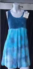 Tie dye dress handmade in USA one of a kind unique 100% cotton Hippy 60s