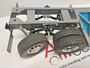 Tamiya 1/14 Truck or Trailer Unpowered Tag Steer Axle Assembly
