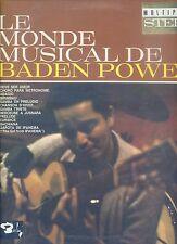 BADEN POWELL le monde musical de FRANCE EX LP
