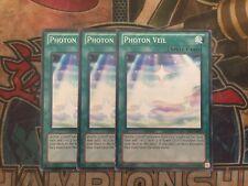Yu-Gi-Oh Photon Veil AP02-EN023! Common! X3!!