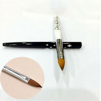 1 pc No.10 Detachable Nail Art Acrylic Kolinsky Sable Brush Nail Art Brush Tool