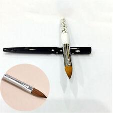 No.10 Detachable Nail Art Acrylic Kolinsky Sable Brush Nail Art Brush Tool DIY