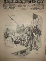 1872 Harper's Weekly Nast May 11 Greeley and liberals suggest Grant leave office