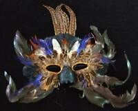 Pleasure Pheasant Mardi Gras Venetian Mask Costume Mardi Gras Prom Party Costume
