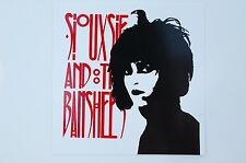 Siouxsie And The Banshees Sticker Decal (S182) Goth Gothic Rock Bauhaus Window