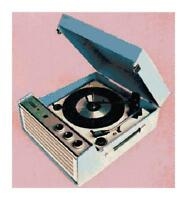 Vintage Retro Record Player DIGITAL Counted Cross-Stitch Pattern Needlepoint