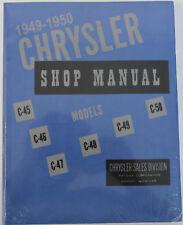 1949 1950 Chrysler Town /& Country Windsor Shop Service Repair Manual CD OEM