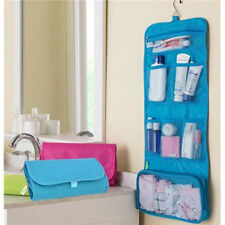 Green Lady Convenient Travel Wash Make up Bag Toilet Hanging Toiletries Folding