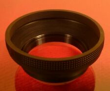 58mm SCREW-ON CAMERA RUBBER COLLAPSIBLE LENS HOOD