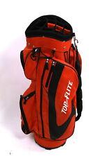 Top Flite Carry Golf Bag 14 Dividers Orange