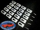 20 GM Chevy Oldsmobile Pontiac Vinyl Top Molding Moulding Trim Clips Studs BK