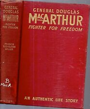 1942 GENERAL DOUGLAS MACARTHUR ILLUSTRATED PHILIPPINES WORLD WAR 2