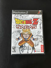 DRAGON BALL Z SAGAS, ps2 US, neuf, sous blister