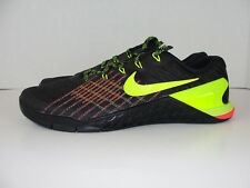 9aef017e88f76d Nike Metcon 3 Training Shoes Gym Black Volt Crimson 852928-012 Men 11