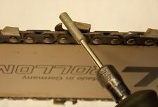 """13/64"""" Chainsaw Sharpener Bits, (Pack of 4) Diamond File Burrs for 3/8"""" Chains"""