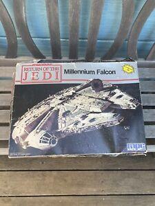 VINTAGE MPC MODEL KIT STAR WARS RETURN OF THE JEDI MILLENNIUM FALCON