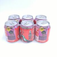 NOS Coca Cola Six Pack 8 Oz. Cans - Halloween Party Pack - Black Cat Image