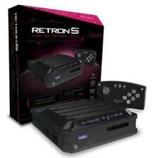 Retron 5 Nintendo NES/SNES/Famicom/Sega Genesis/Game Boy Video Game System Black
