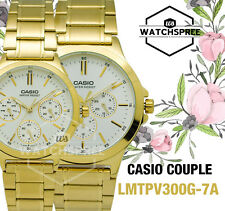 Casio Couple Watch LTPV300G-7A MTPV300G-7A