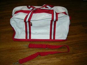 Tommy Hilfiger Gym, Duffle, Sports, Travel Bag. White, Red, Blue.