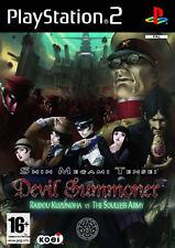 Shin Megami Tensei Devil Summoner Sony PlayStation 2 Very RARE Ps2 Game UK PAL