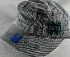 LZ Adidas Women's One Size Notre Dame Fighting Irish Baseball Hat Cap NEW D56