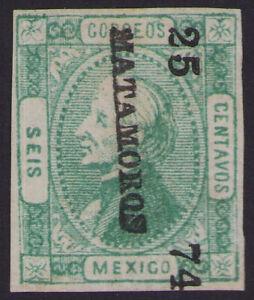 cw06 Mexico #93 6ctv Matamoros 25-74 Better Cons year, Mint No Gum est $20+