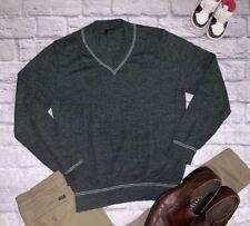 9f9c45eb368 United Colors of Benetton - EUC Men s Light Gray V-neck Sweater