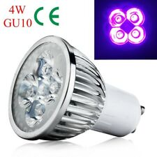 GU10 AC 85-265V 4W Base UV LED Ultraviolet LED Spotlight Bulb Home Lamp New