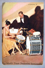 Leedy Drum CATALOG - c. 1930 ~~ drums, drummers' instruments