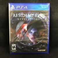 Resident Evil: Revelations (Sony PlayStation 4, 2017) BRAND NEW