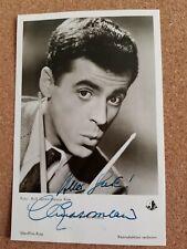 Chris Howland original signierte Autogrammkarte