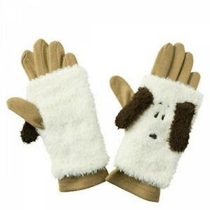 PEANUTS SNOOPY Women's 3Way Winter Warmer Gloves 2 Colors Japan with Tracking