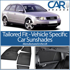 AUDI A4 Estate 2001-08 UV CAR SHADES WINDOW SUN BLINDS PRIVACY GLASS TINT BLACK