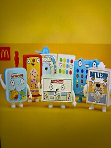 McDonalds 2021 Hasbro Gaming Happy Meal toys   Full set of 8