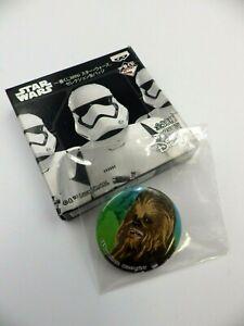 Badge STARS WARS CHWEBACCA 3,5 cm Disney Banpresto neuf Jap import