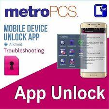 Metro PCS Android App Device Unlock Service LG K20 Plus Stylo 4 Stylo 5 Moto E4