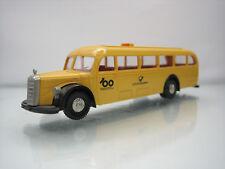 Brekina Mercedes 5000 Touring Bus Deutsche Bundespost Yellow 1/87 Scale