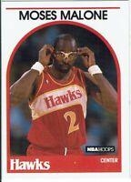 Carte Collezionabili Mappa NBA Hoops 1989 Moses Malone