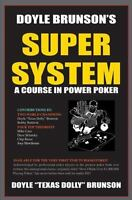 Doyle Brunson's Super System a paperback book FREE SHIPPING power poker course