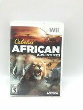 Nintendo Wii Video Game: Cabela's African Adventures I Teen