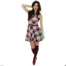 Unbranded Petite Short/Mini Skater Dresses for Women